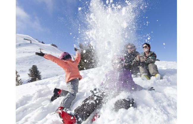4 x 1 Ski-Tageskarte für die Region Val d'Hérens