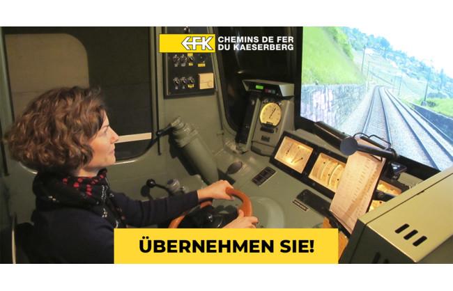 Einladungen in unseren Fahrsimulator einer echten Gotthardlokomotive