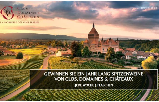 ein Jahr Lang Spitzenweine von CLOS, DOMAINES & CHÂTEAUX