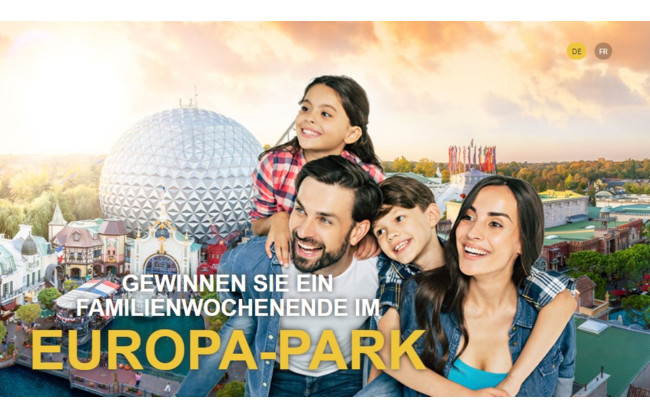 Gewinnen Sie ein Familienwochenende im Europa-Park