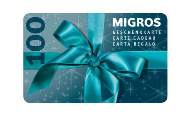 Gewinnen Sie eine Migros-Geschenkkarte im Wert von Fr. 100.-