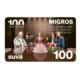 100 Franken Migros-Einkaufsgutschein zu gewinnen