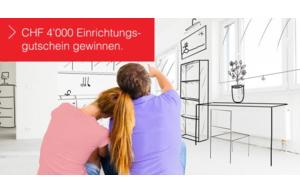 Einrichtungsgutschein im Wert von CHF 4'000