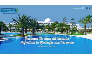 Gewinnen Sie einen All-Inclusive Aufenthalt in Djerba für zwei Personen