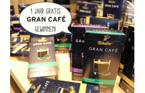 Gewinnen Sie eine Jahresration Nespresso-kompatible Gran Café Kapseln